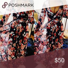 """""""Floral Garden"""" BEAUTIFUL Maxi Dress❤️ This dress is beyond gorgeous!!! It's super vibrant in person! Brand for exposure. Perfect for any occasion! Tags: Nasty Gal, ANGL, Forever 21, Bebe, Naked wardrobe, Zara, Asos, Los Angeles L, American Apparel, Misguided, Fashion Nova,Brandy Melville, UNIF. Will fit all sizes!#Denim Asos Dresses Mini"""