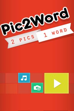 Pic2Word - 2 Pics 1 Word Android #SourceCode