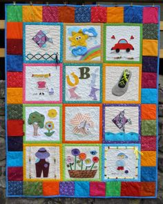 ~DÍLNA jamala~: června 2014 Large Flowers, Applique, Quilts, Embroidery, Blanket, Cute, Group, Scrappy Quilts, Needlework