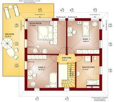 Grundriss stadtvilla 120 qm  Hier finden Sie Einfamilienhaus-Grundrisse von 120 - 150 m² ...