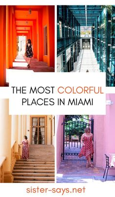 A Color Guide to Miami. The most gorgeous places in Miami that only a local would know! | travel | wanderlust | travel guide | Miami | vacation |