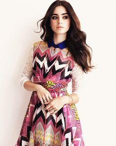 Lily Collins best eyebrows EVER!