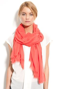 Nordstrom Solid Wrap available at Nordstrom
