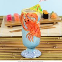 This Lobster Tiki Mug is sure to stand out at your next Polynesian party! Made of glazed ceramic, this novelty cocktail mug makes a great gift for your favorite seafood lover. Tiki Party, Mai Tai, Retro Gifts, Decorating Tools, Glazed Ceramic, Luau, Sculpting, Tropical, Ceramics