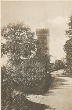 Benfleet Water Tower    Built  1903.  Grade 2 listed.  Architect - Anthony Blee (Sir Basil Spence Partnership) We did think about buying back in the Eighties when it went up for sale for £10k but decided against it as too much work was required. 30m high with a 22m mast sited on the roof used for telecommuncations.  Note Benfleet Road minus those ghastly piles now inflicted on it. http://benfleethistory.org.uk/images/uploaded/originals/water_tower_pc.jpg