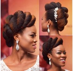 20 stunning wedding hairstyles ideas – My hair and beauty Natural Hair Wedding, Natural Wedding Hairstyles, Natural Hair Updo, Natural Hair Care, Bride Hairstyles, Natural Hair Styles, Asian Hairstyles, Black Hairstyles, Trendy Hairstyles