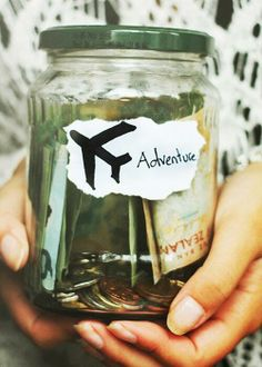 Have moneybox for my next travel.. Done!