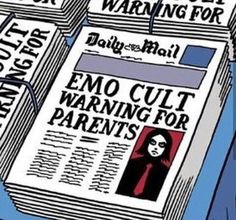 Image about emo in Gerard way ❤️🔪 by 💀spookylucy🎩 - Source by PewPewUrDead - Princesa Emo, Arte Emo, Emo Princess, Princess Bubblegum, Emo Scene, Gerard Way, Emo Bands, My Vibe, The Villain