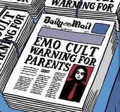 Image about emo in Gerard way ❤️🔪 by 💀spookylucy🎩 - Source by PewPewUrDead - Princesa Emo, Arte Emo, Arte Grunge, Emo Princess, Princess Bubblegum, Killjoys, Gerard Way, Spotify Playlist, Emo Bands