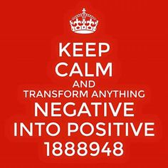 Transform negative into positive