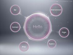 Inflight - Experience UI/UX via Behance.net by Stefan Poulos