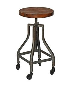 OFF Melange Home Reevolution Revolving Bar Stool on Wheels