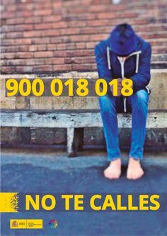 Carteles casos de acoso escolar: teléfono 900 018 018 y Telegram, skype adaptado a personas con discapacidad auditiva Culture, Skype, Sports, Holidays, Audio, Hearing Impaired, Human Rights, Feelings, Poster