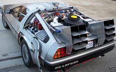 Doc Brown's DeLorean...