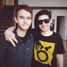 Zedd And Skrillex looking good