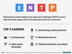 Top Careers For ENTP