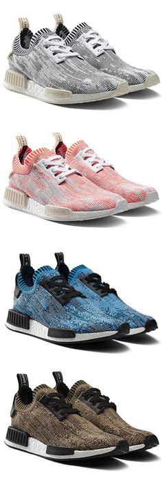 """d600f8e1a adidas Originals NMD Primeknit """"Camo"""" Runner Tenis"""