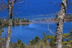 Hunter's Point seen from Brockway Mountain, Copper Harbor, Michigan - People and Places - BirdWatching Daily - BirdWatching Community