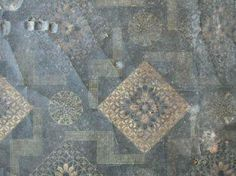 printed linoleum found in an Australian hallway Antique Wallpaper, Museum Collection, 1920s, Victorian, Textiles, Flooring, Rugs, Printed, Antiques