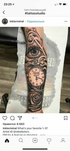 Clock Tattoo Ideas - Cool Tattoos For Men: Best Tattoo Ideas, Top Designs For Guys tattoos 101 Cool Tattoos For Men: Best Tattoo Ideas + Designs For Guys Jesus Tattoo, Elbisches Tattoo, Samoan Tattoo, Polynesian Tattoos, Rose Tattoos For Men, Cool Tattoos For Guys, Badass Tattoos, Guy Tattoos, Watch Tattoos
