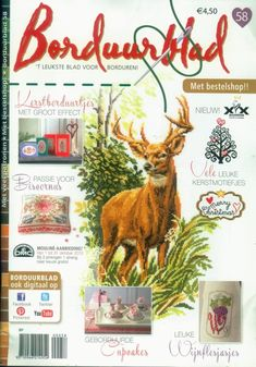 Beaded Cross Stitch, Cross Stitch Embroidery, Cross Stitch Patterns, Cross Stitch Magazines, Cross Stitch Books, Book And Magazine, Cross Stitching, Needlework, Diy And Crafts