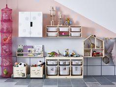 Pokój dziecka IKEA - Średni pokój dziecka dla dziewczynki dla malucha - zdjęcie od IKEA