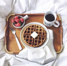 Would love breakfast in bed