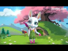 Easter messages for your friends and family — Zoobe - animated video messages, free app for iOS and Android. Get famous characters like The Smurfs, Maya the Bee. Happy Easter, Easter Bunny, Easter Eggs, Dyngus Day, Video Gospel, Easter Invitations, Easter Messages, Easter Monday, Easter Holidays