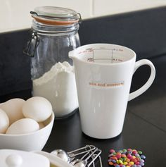 Absolutely adorable kitchen set by Keith Brymer Jones. Found on Poppytalk. I want the entire collection soooo badly.