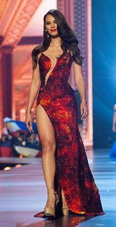 Catriona Elisa Magnayon Gray 2018 Miss Universe (Winner) Bangkok Thailand Sexy Dresses, Beautiful Dresses, Nice Dresses, Prom Dresses, Miss Universe Philippines, Miss Philippines, Miss Filipinas, Grey Fashion, Fashion Models