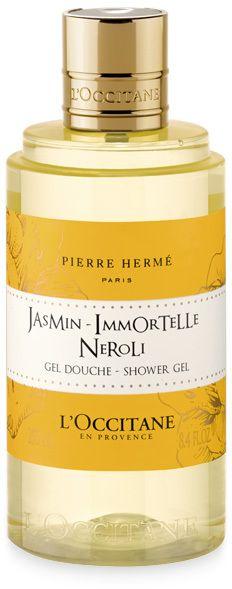 L'Occtane:  Jasmine Immortelle Neroli Shower Gel