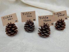woodland wedding escort labels. Woodland by Pearlypantscrafts, £10.00