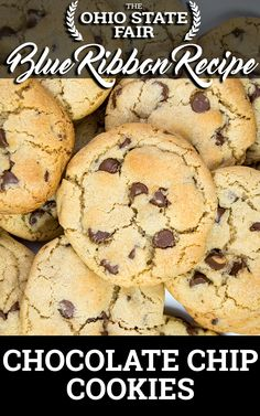 Chocolate Chip Cookies Recipe by Kristyne McDougle, Lorain, Ohio First place, Cookies & Pastries (Chocolate Chip Cookie), 2017 Baking temperature: 350 degrees Baking time: 10-14 minutes Yield: 50 cookies Ingredients 4 c all-purpose flour 1 ½ t baking powder 1 ¼ t baking soda 2 t salt 2 ½ sticks of salted butter, softened 1Read More