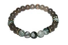 Preseli Bluestone Bracelet Gray Agate Bracelet Gray Stone