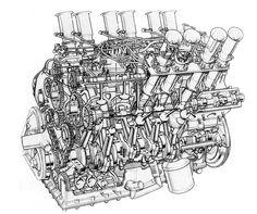 Jaguar V12 5000 race engine (Jagmania sourced pic)
