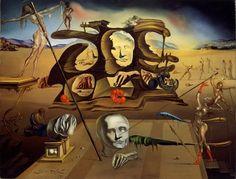 Salvador Dali, le génie aux moustaches Nez de Napoléon, 1945