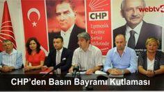 CHP'den Basın Bayramı Kutlaması