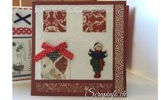 cartes de noël 2015 - Scrapbooking Carterie couture