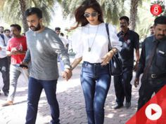 Watch: Shilpa Shetty and Raj Kundra go out on a lunch date