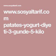 www.sosyaltarif.com patates-yogurt-diyeti-3-gunde-5-kilo