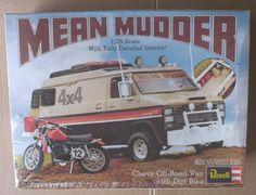 Revell Mean Mudder Off Road Van box art