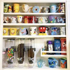 Mugs, Coffee, Tableware, Kitchen, Home Decor, Disney, Christmas, Ideas, Stuff Stuff