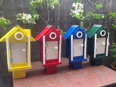 Perth WA  Garden Art U0027bird Housesu0027 For The St Marku0027s Anglican Community  School
