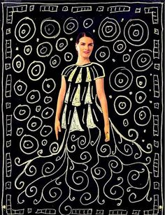 kids art projects   ... with a Gustav Klimt inspired art project from Art Projects for Kids