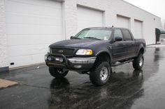 Black color  lifted Ford F-150 F150 Truck, 4x4 Trucks, Lifted Ford Trucks, Cool Trucks, Ford F150 Accessories, Truck Accessories, F150 Lifted, Ford F Series, Ford Expedition