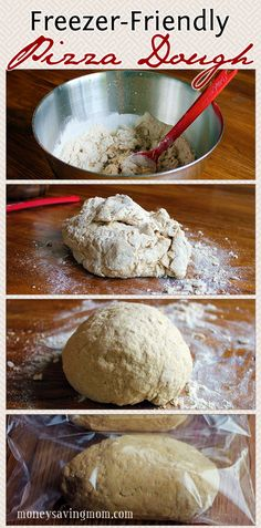 This is the Best Recipe and easiest pizza dough ever. I use this recipe all the time. In fact, we rarely order pizza because this recipe is so good, so simple and can be made in batches and frozen ahead! Freezer-Friendly Pizza Dough