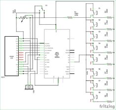 circuit diagram of transmitter part for interfacing rf module with series circuit diagram circuit diagram of transmitter part for interfacing rf module with atmega8 electronic circuit diagrams pinterest circuit diagram, arduino projects and