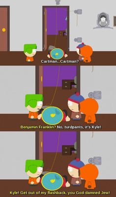 """I like South Park as much as the next person, but I have to admit that Futurama did a better job portraying the revolutionary war. There was more humor in it and you can't go wrong with """"Wrongway Revere"""""""