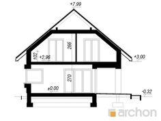 Projekt domu Dom w zdrojówkach - ARCHON+ Floor Plans, Farmhouse, Construction, Architecture, House 2, Projects, Building, Arquitetura, Architecture Design