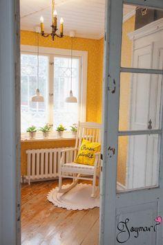 Sunny hall ♥ Porch Swing, Outdoor Furniture, Outdoor Decor, Home Decor, Decoration Home, Room Decor, Porch Swings, Home Interior Design, Backyard Furniture